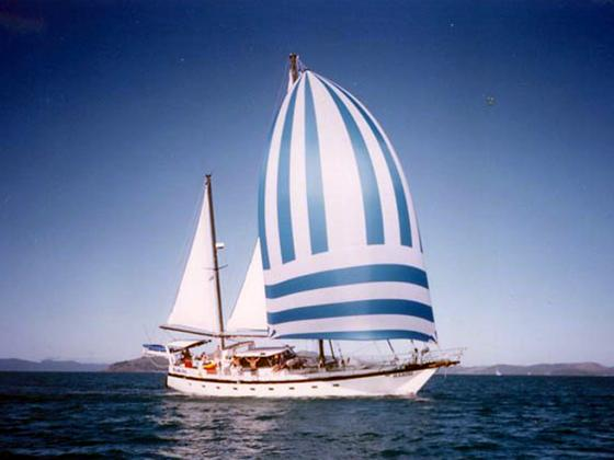 Habibi - departs Airlie Beach