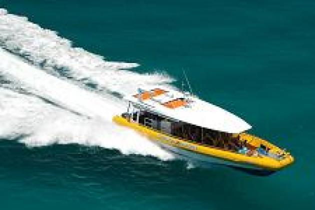 BIG FURY Whitsundays: Full Day Whitehaven Beach, Hill Inlet Lookout & Coral Reef Snorkel