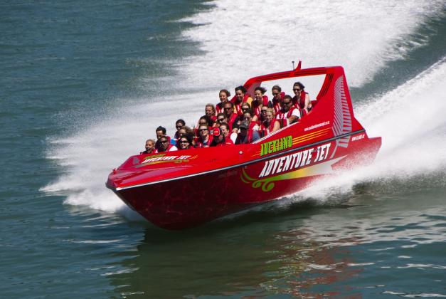 Auckland Adventure Jet: Jet Boat Ride