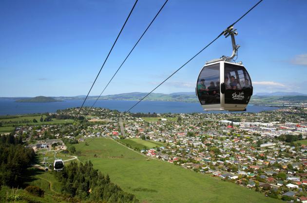 Skyline Rotorua: Gondola