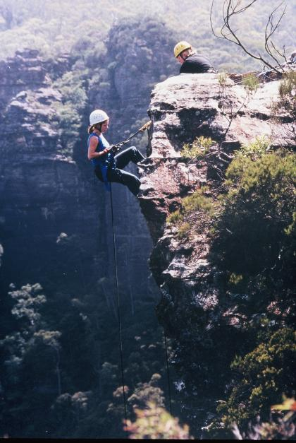 The Super Jump Abseiling adventure