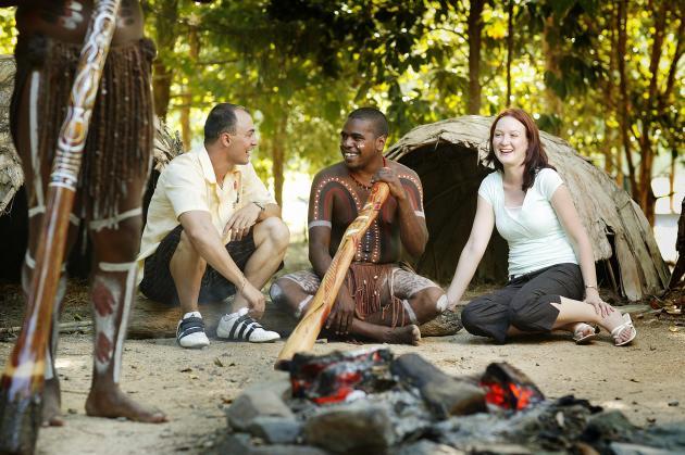 Tropical Horizons 1 day Tour: Kuranda + Tjapukai ex Northern Beaches