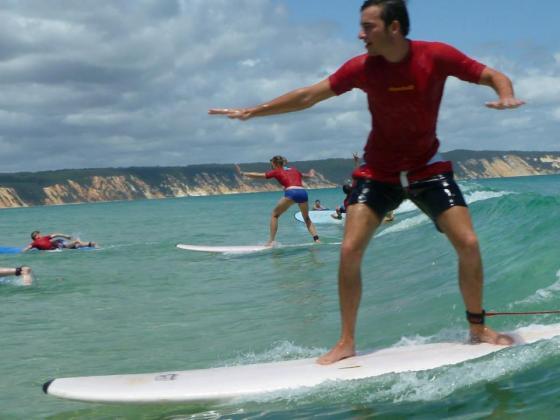 Double Island Surfboard Hire & 4X4 Adventure Rainbow Beach