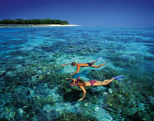 Big Cat Green Island Reef Cruises: Green Island Full Day 9am departure with standard inclusions (FDBC - Pak 1)