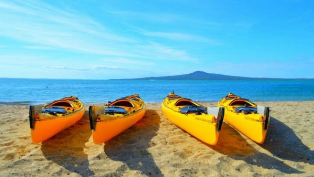 Auckland Sea Kayaks Rangitoto Island Day Kayak