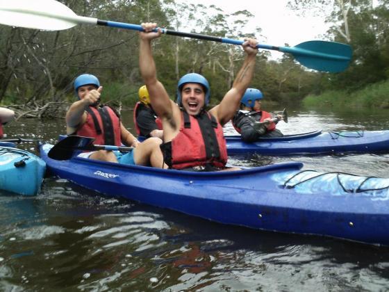 White Water Kayaking & Abseil Adventure Tour