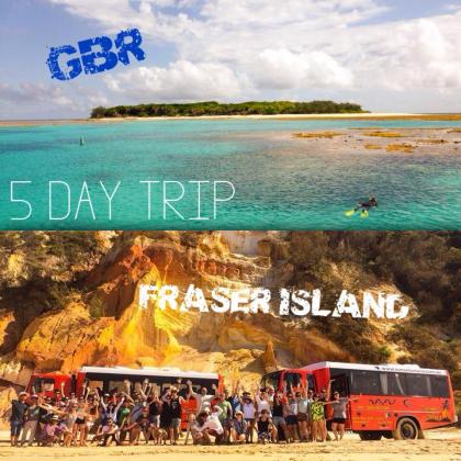 Fraser Island & Great Barrier Reef 5-Day Tour