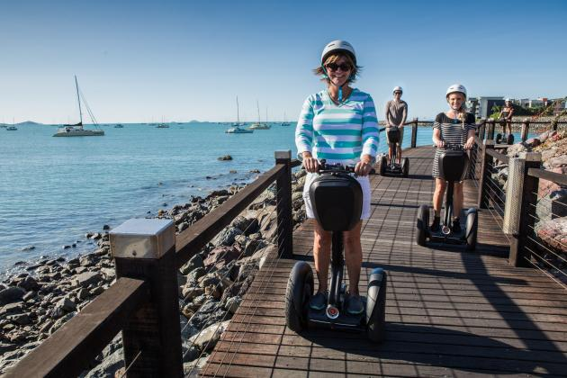 Whitsunday Segway Tours: Segway Sunset and Boardwalk Tour (Includes Dinner)