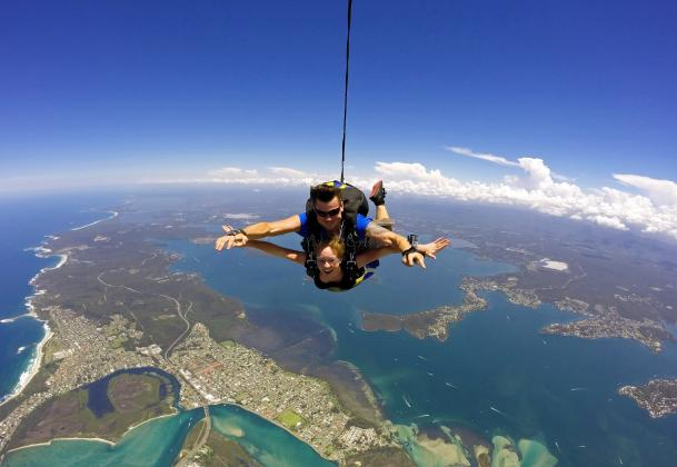 CLOSED UFN DUE TO COVID-19 Skydive Sydney-Newcastle