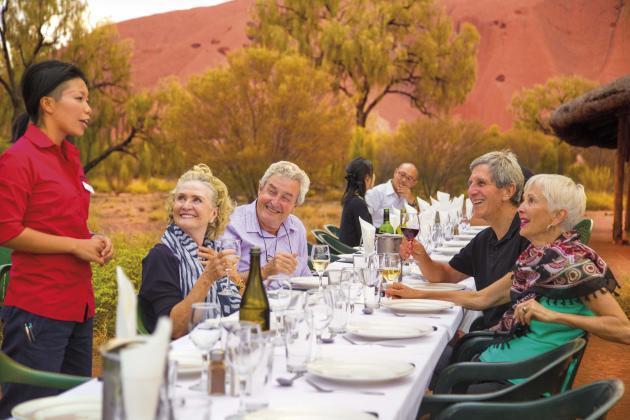 Uluru Sacred Sights & Sunset with Uluru Barbecue Dinner Under the Stars