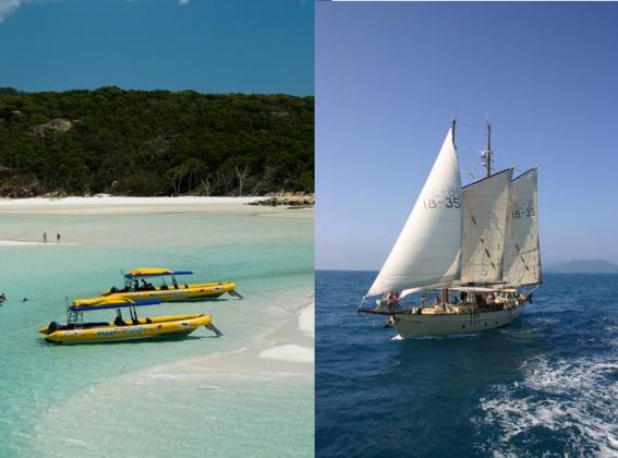 Ocean Rafting and Derwent Hunter: Whitsunday Chill and Thrill Package