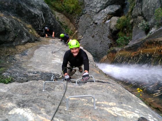 Wildwire Wanaka - Wild Thing Waterfall Climb