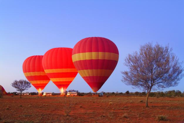30 minute Early Morning Balloon Flight including light refreshments