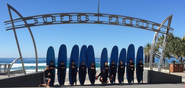 Surfers Paradise Surf Lesson