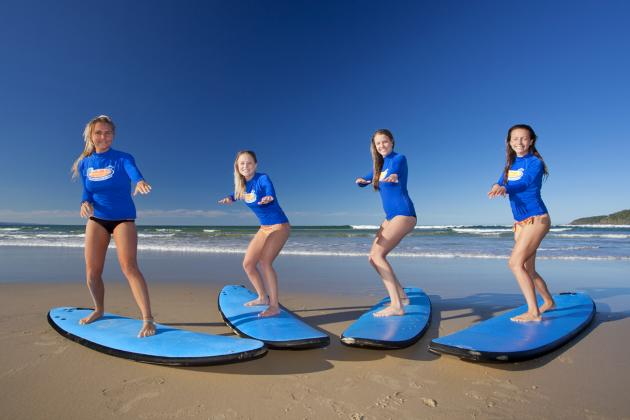 Broadbeach Surf Lesson