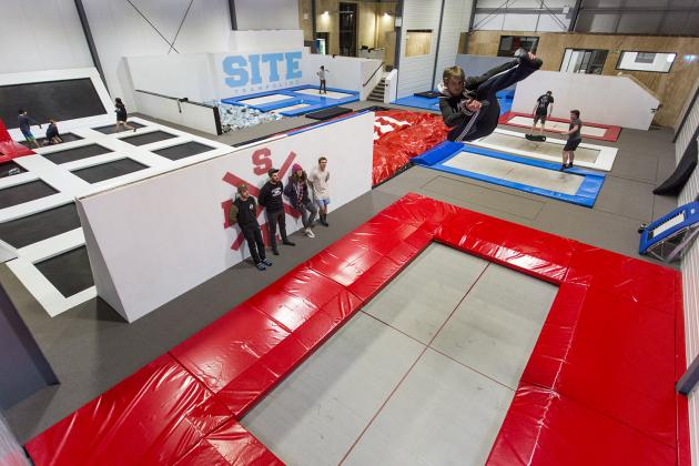 SITE Trampoline - Bounce Session