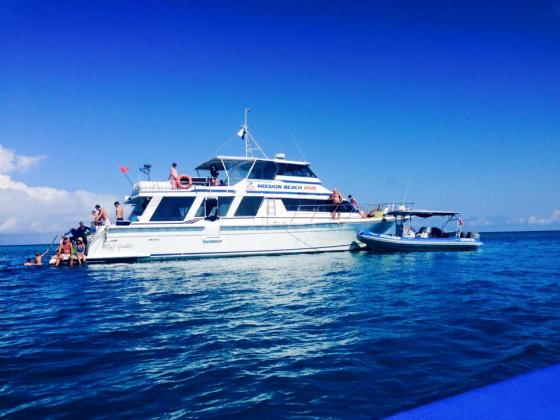 Full Day Outer Great Barrier Reef inc 2 Certified Dives