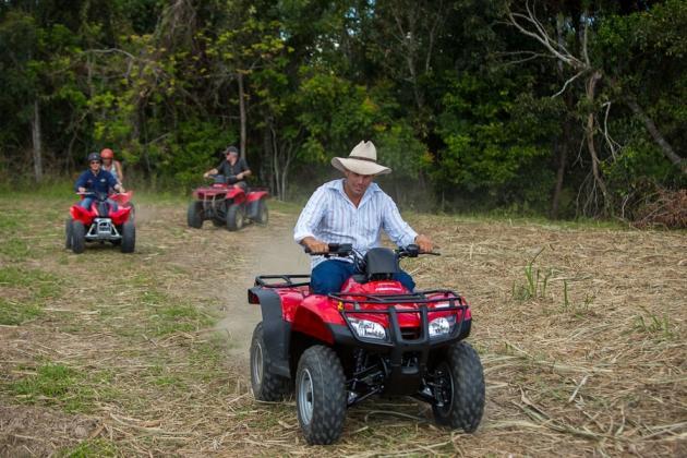 Raging Thunder combo: Barron River Rafting + ATV Quad Bike Tour