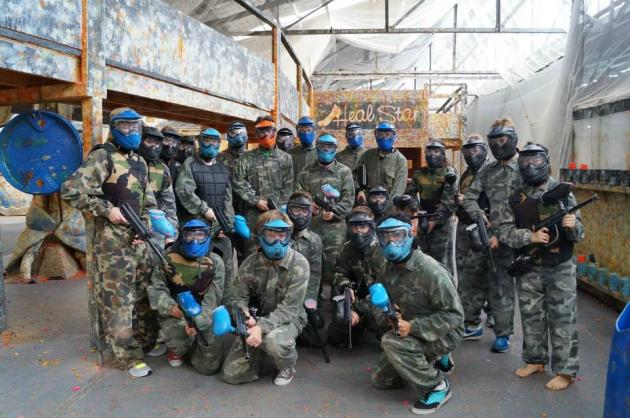 The Ultimate Paintball Experience
