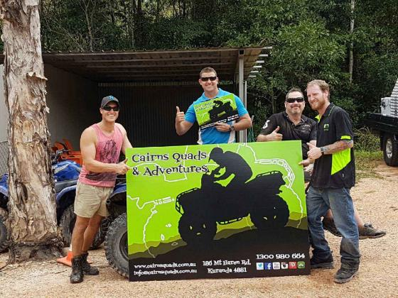 Cairns Quads & Adventures: Cairns ATV Adventure