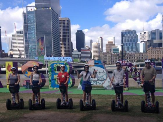 Kangaroo Segway Tours: 2 Hour 15 Minute Segway Sightseeing Day Tour