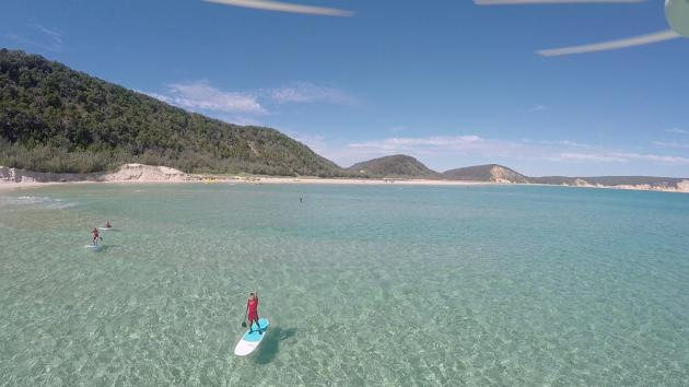 Stand up Paddle Lesson Double Island
