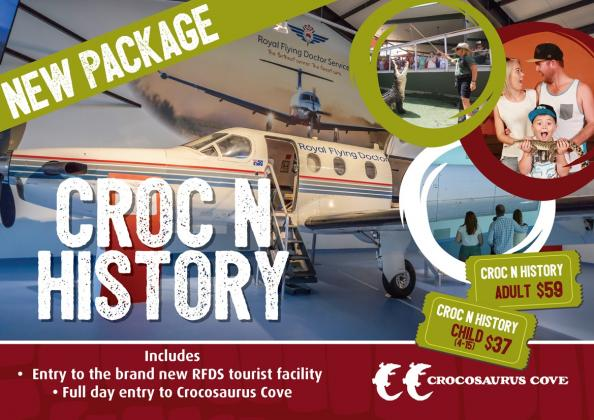 Not currently operating due to COVID-19: PACKAGE: Croc N History