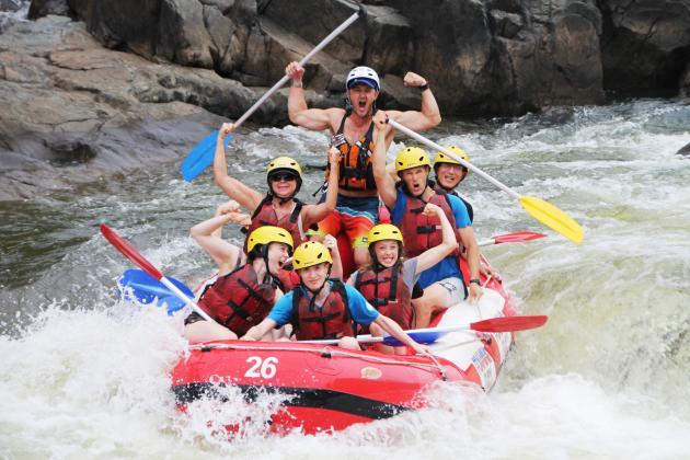 Barron River Rafting - departs Port Douglas