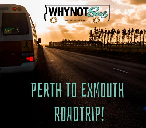 Why Not Bus - Perth to Exmouth and Return, 11 Day West Coast Tour