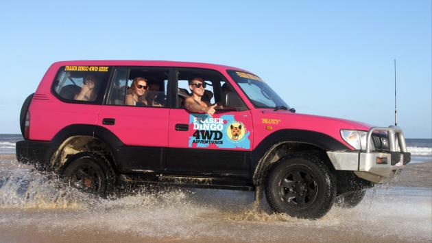 3 Day 4WD Hire