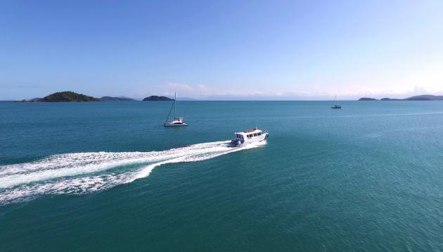 Mission Beach to Dunk Island Water Taxi Transfer