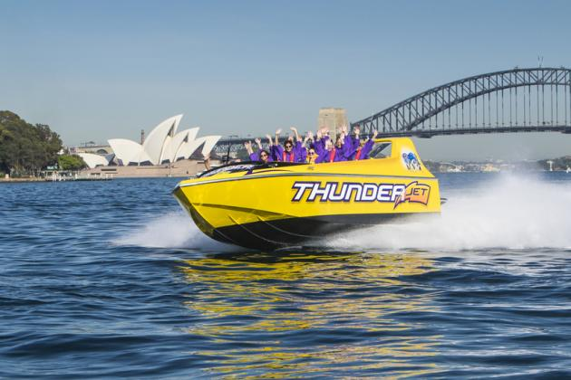 Thunder Twist Jet Boat Ride