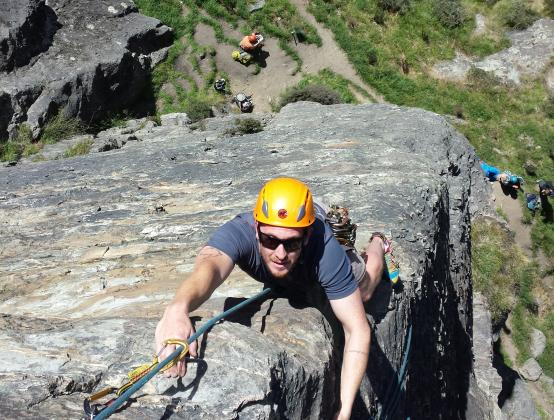 Climbing Queenstown: Full day Rock Climbing