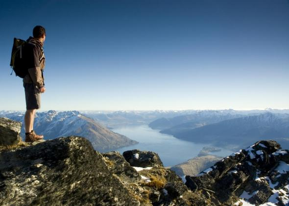 Climbing Queenstown: Half day Alpine Guided Short Walk