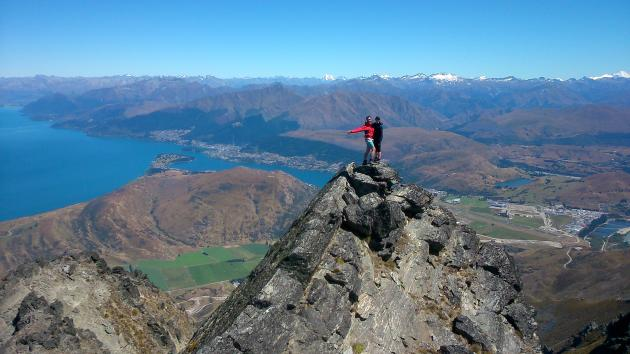 Climbing Queenstown: Full day Alpine Guided Hiking
