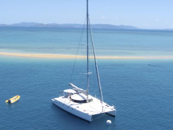 Whitsunday Sailing Tour aboard Entice Catamaran