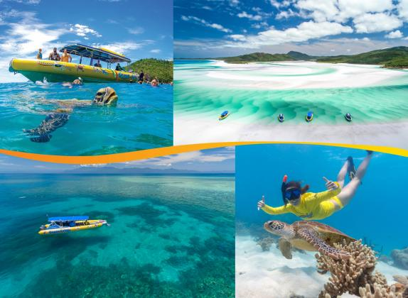 Ocean Rafting and Ocean Safari 2 Trips Deal