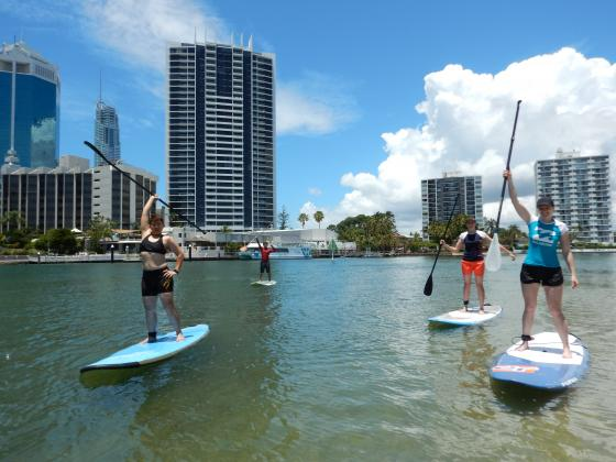 Go Vertical SUP: Paradise Stand up Paddle Tour