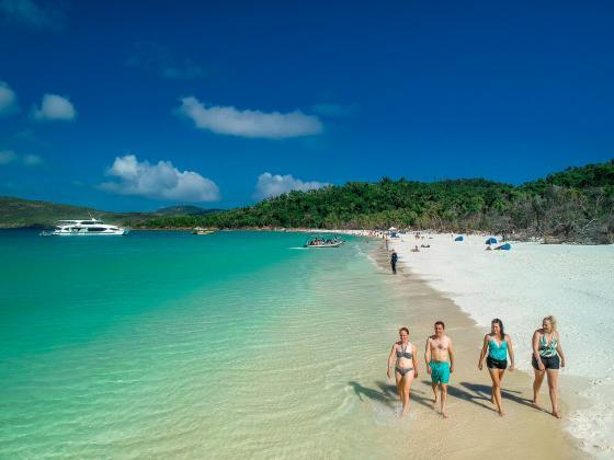 Whitsunday Islands & Whitehaven Beach 1/2 Day Cruises