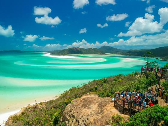 Ultimate Whitehaven Beach Hike, Hill Inlet and Lookout