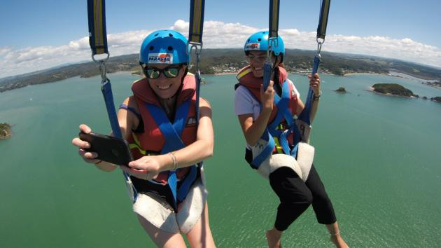 Bay of Islands Parasail TANDEM FLIGHT