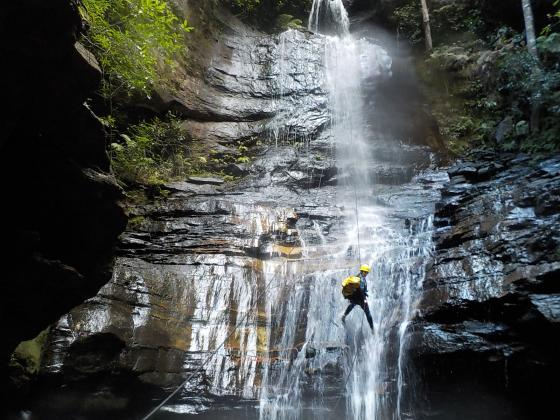 Spectacular Empress canyon,  Abseiling & Canyoning adventure