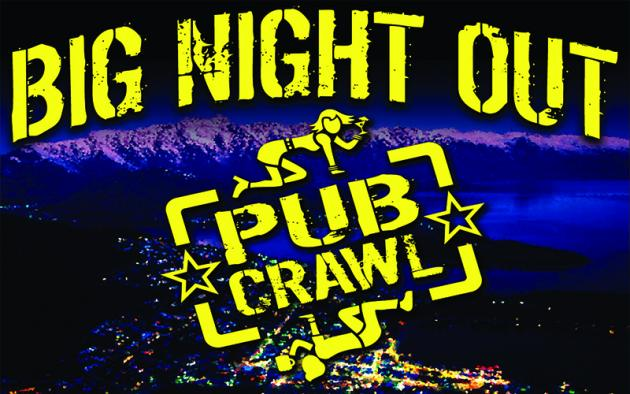 Big Night Out Pub Crawl Queenstown