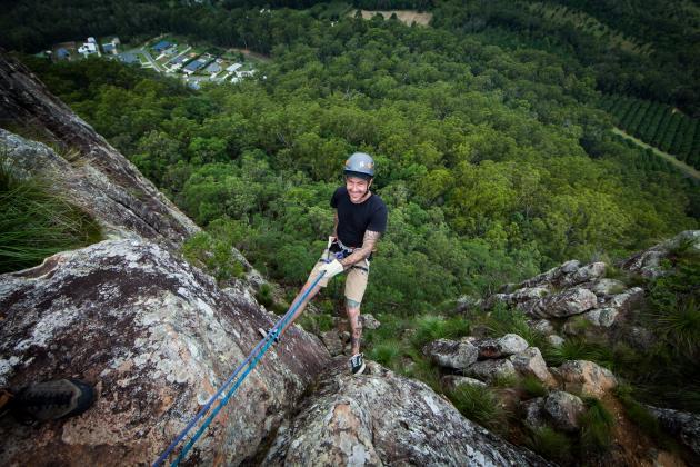Pinnacle Sports - Abseiling Mt Ngungun (Glasshouse Mountains)