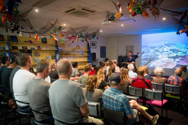 Reef Teach - World famous 5 star Great Barrier Reef Talk