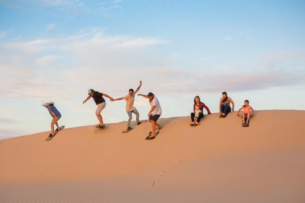 Unlimited Sandboarding Port Stephens