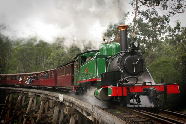 Puffing Billy Half Day Train Journey