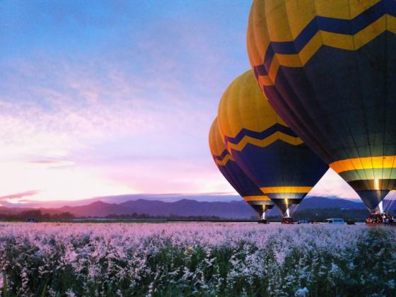 Raging Thunder Combo: Balloon Flight + Horse Riding