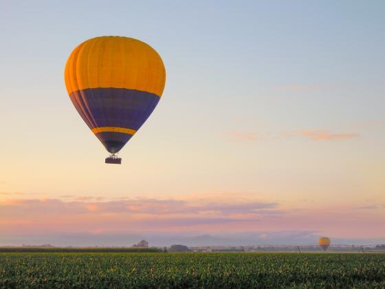 Raging Thunder: Express Hot Air Balloon Flight