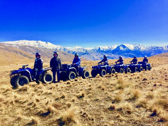 THE MOUNTAIN EXPERIENCE QUAD BIKE TOUR